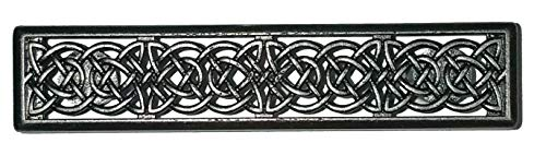 (Set of 24 Celtic Drawer Handles in Old Silver)