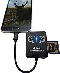 BoneView Trail and Game Camera Viewer SD Card Reader for Android Phones from Outdoor Performance Gear