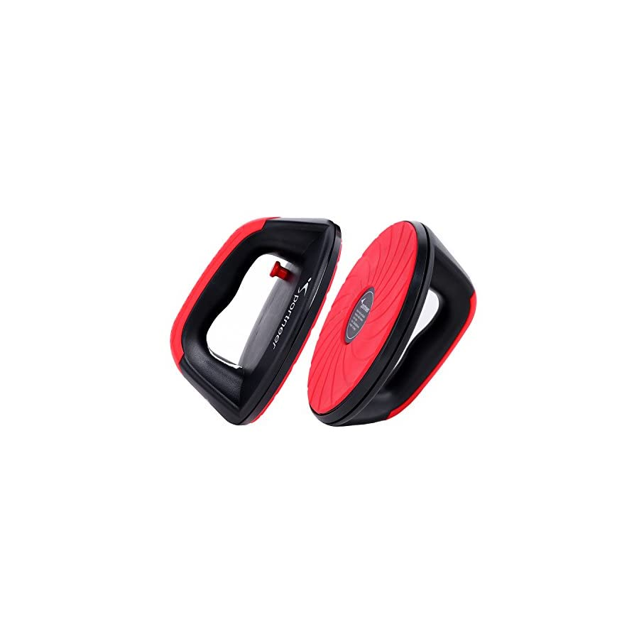 Sportneer Push Up Bar Pushup Handle Grips Stand with Rotating Base for Fitness Workout Home Gym,2 Pack