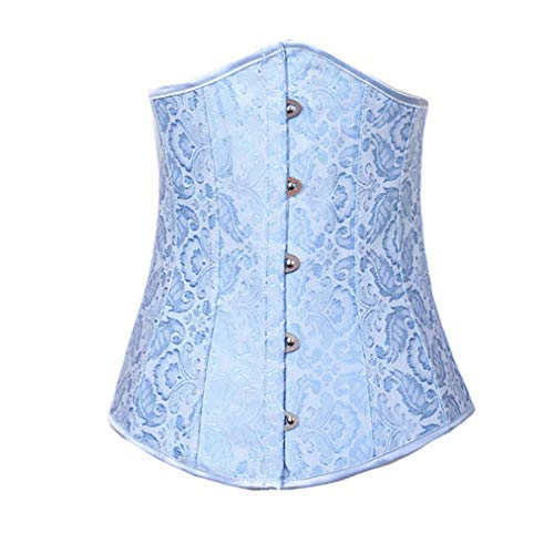 Women's Waist Trainer Bustier Top Shapewear Bodysuit Waist Cinchers Corsets with G String