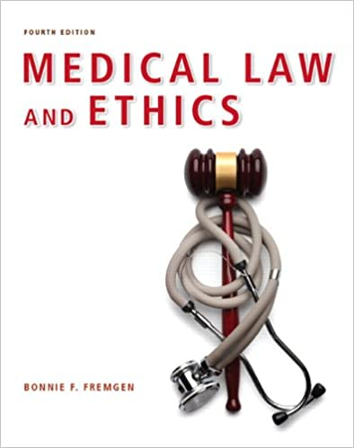 Medical law and ethics 4th edition 9780132559225 medicine medical law and ethics 4th edition 9780132559225 medicine health science books amazon fandeluxe Image collections