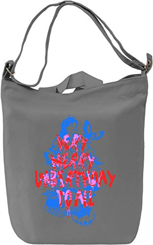 Very Merry Unbirthday Borsa Giornaliera Canvas Canvas Day Bag| 100% Premium Cotton Canvas| DTG Printing|