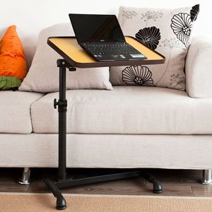 haotian autotouch laptop desk cart overbed table bed table sofa side table fbt07n3n
