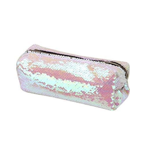 GBSELL Fashion Double Color Sequins Glitter Handbag Pencil C