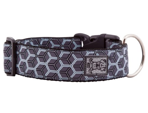 RC Pet Products 1-1/2-Inch Dog Clip Collar, Large, Hexacomb