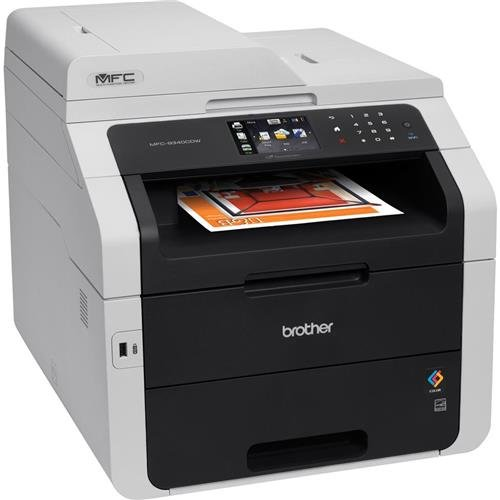 Brother MFC-9340CDW All-in-One Wireless Digital Color Printer, 23ppm Black/Color, 600x2400dpi, 250 Sheet Paper