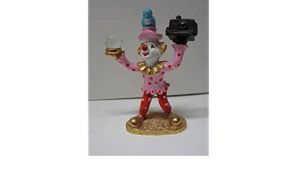 Amazon com: Spoontiques Clowns Pewter Painted Figurine Clown