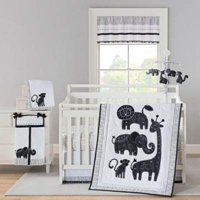 New Country Home 6061A 4 Piece Giggle & Smile Silhouette Jungle Set - 18 x 13 x 5.5 in. ()