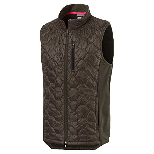 Puma Golf Men's 2018 PWR Warm Extreme Vest, Large, Forest Night