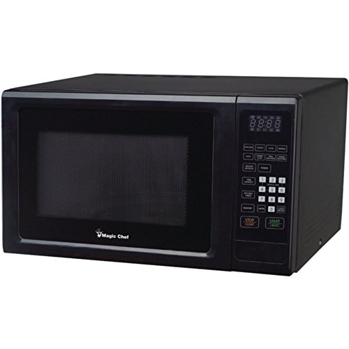 Magic Chef MCM1110B Black Countertop Microwave 1.1 Cu ft 100