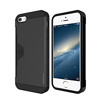 ecfd00ee5d Amazon | 【日本正規品】 PhoneFoam Golf Fit iPhone SE カード収納機能 ...