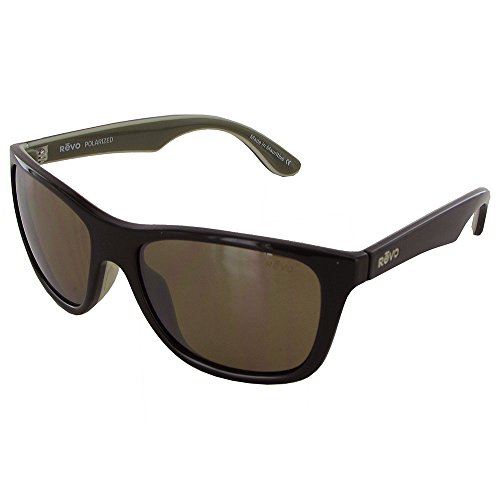 Sunglasses Protection Brown Revo Frame Uv Unisex olive Square 1001 ivory Polarized Re Otis xqWzwqf80