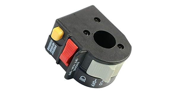 Left Hand Handlebar Switch 4011655 For Polaris Sportsman Hawkeye 300 2002-2019
