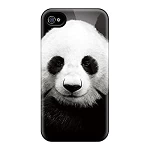 Iphone High Quality Case/ Panda XorxhpF310GKWdW Case Cover For Iphone 4/4s