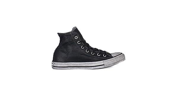 ebcd2bc2a5 Converse All Star Limited Edition Piel Negro Hombre Mujer Invierno  Mainapps: MainApps: Amazon.es: Zapatos y complementos