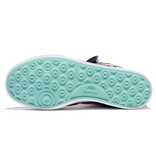 Adidas Originals Des Femmes Des Extaball Baskets Mode W Bleu / Rose / Blanc Chaussures