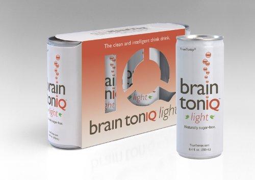 Cerveau Toniq Light - la sucre sans caféine/calorie libre pense boire - 24 canettes