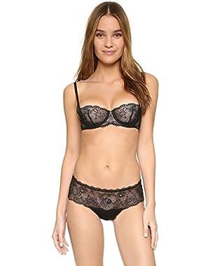 Calvin Klein Underwear Women's Black Space Sling Balconette Bra