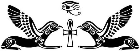 Knncch Diy Extraíble Horus Egipcio Dios Ojo Etiqueta De La Pared ...