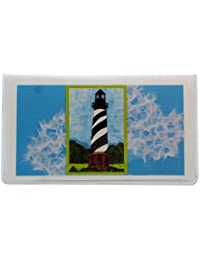 Lighthouse Checkbook Cover Made in the USA By Jades Menagerie