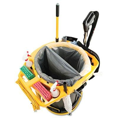Rubbermaid Commercial - Deluxe Rim Caddy 28 1/2 X 39 1/8 Yellow