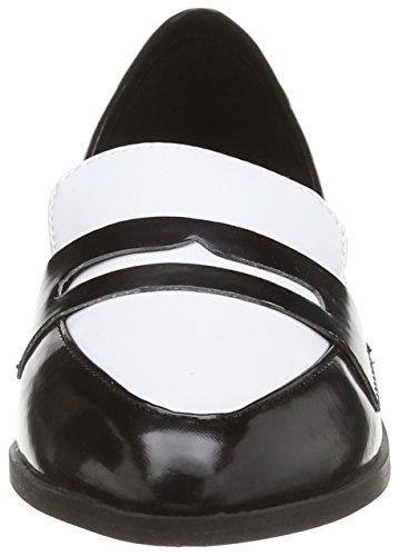 Blink BmaluL - Zapatillas de casa de material sintético mujer multicolor - Mehrfarbig (black/white / 203)