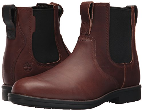 Timberland Men's Carter Notch Chelsea Boot, Dark Brown Full Grain, 10 D(M) US by Timberland (Image #6)