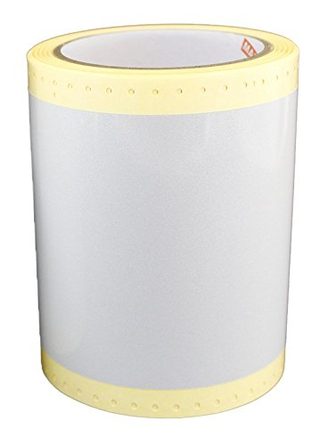Max USA SL-S141N Reflective White Tape Roll For CPM-100G3U, Sold 2 per Zack Pack.