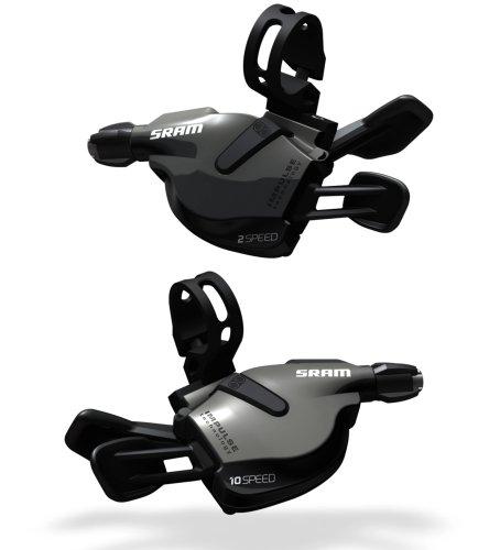 Double Tap Shifters (SRAM S700 Flatbar 2 x 10-Speed Shifter Set)