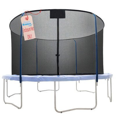 Replacement-Trampoline-Safety-Net-Fits-For-Round-Frames-Using-Curved-Pole-With-Top-Ring-Enclosure-Systems-Net-Only-by-Upper-Bounce