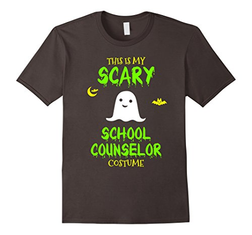 [Mens Scary School Counselor Costume Halloween T-Shirt XL Asphalt] (Ideas For Halloween Costumes Scary)