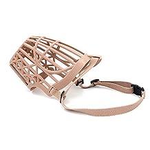 Gold Wing Pet Dog Anti Bark Bite Basket Cage Grooming Muzzle XL
