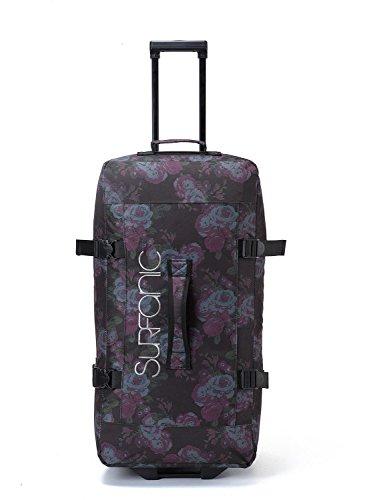Surfanic Roller Bag–Travel Tasche, Split Roller Bag, Rollen, leicht, Haltegriff (Tudor Rose)