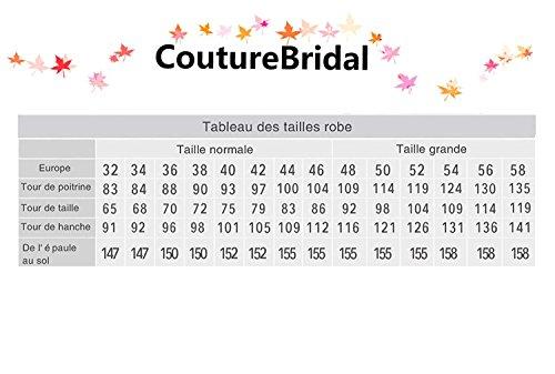 CoutureBridal? Femme Jupe de Plage Longue t Split Haute Taille pour Soire Mariage Elgante Maxi Chiffon Jaune