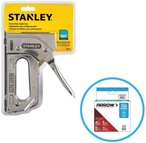 Stanley TR110 Heavy Duty Steel Staple Gun