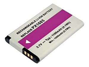 PowerSmart 3.7V 1100mAh Replacement Camcorder Battery for TOSHIBA Camileo S20, Compatible Part Numbers:PX1685