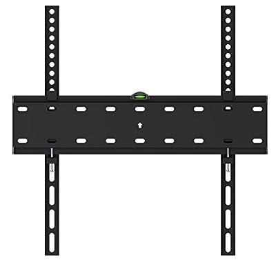 "Husky Mount Tilting Flat Slim TV Wall Mount Bracket Fits Most 32 40 42 46 47 50 52 55"" & other LED LCD Flat Screen Max VESA 400X400 or 16""X16"" Pattern(please measure distance between TV holes & Studs)"