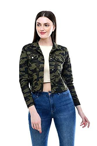 MONTREZ Women Solid Cotton Jacket Full Sleeve
