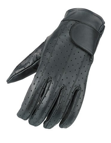 Camoplast BCS-410-S Mossi Mens Summer Vented Riding Glove Small Black
