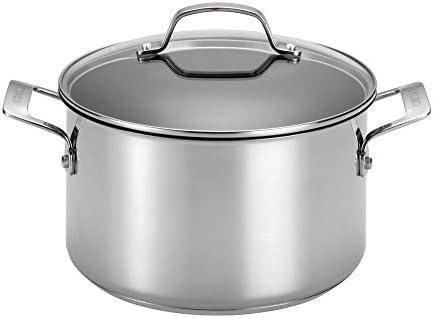 Circulon 77881 10-Piece Stainless Steel Cookware Set,