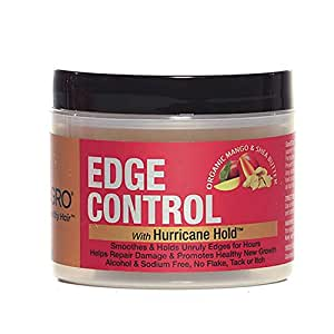 "Good2Gro Edge Control Gel ""Controls & Tames Unruly Edges For Hours, While Promoting Existing Hair Growth and Thicker, Fuller Edges"" 4oz."