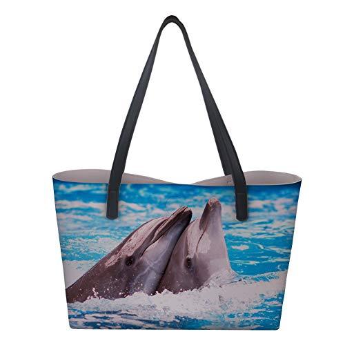 Bolso De Mujer Showudesigns Para Large Asas Delfín UdqqS5Bwxn