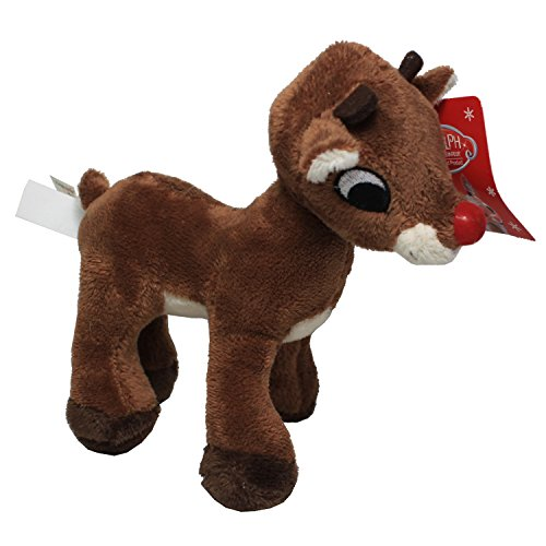 Rudolph the Red Nose Reindeer (Stuffed Reindeer Toy)