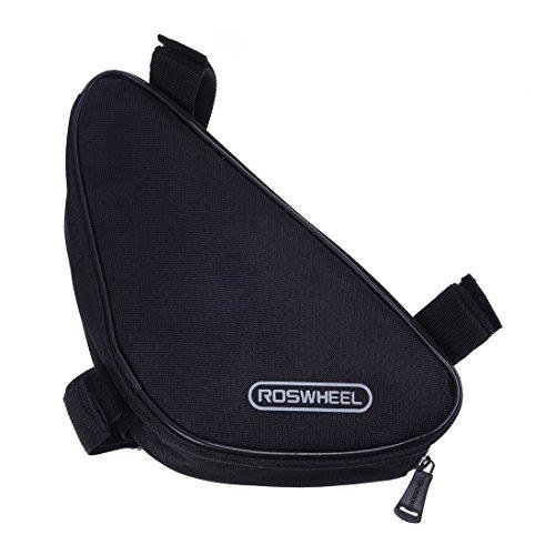 Roswheel Fahrrad Tasche Rahmentasche Werkzeugtasche Dreieckstasche Triangel(schwarz)