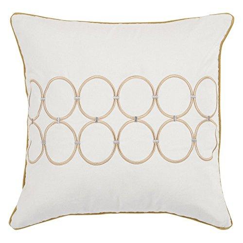 Candice Olson by Surya BCO-510 Machine Made 100% Cotton Winter White 18
