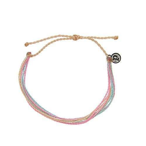 Pura Vida Sunset Bracelet - Iron-Coated Copper Charm, Adjustable Band - 100% Waterproof