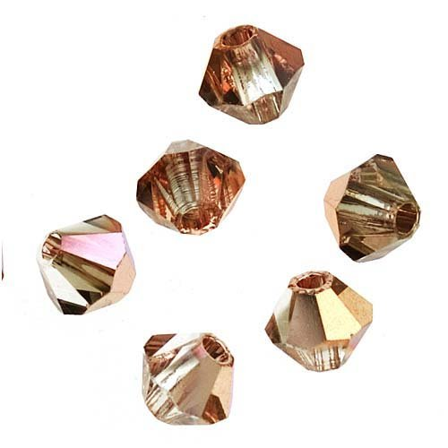 50 Bicone Czech Glass Beads - 1