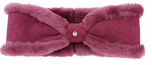 UGG Womens Shearling Carter Headband In Lonely Hearts