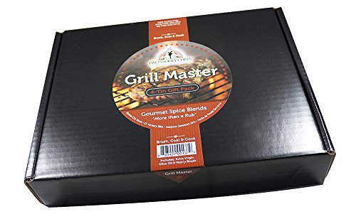 Two Snooty Chefs Grill Master, 4Tin Gift Pack