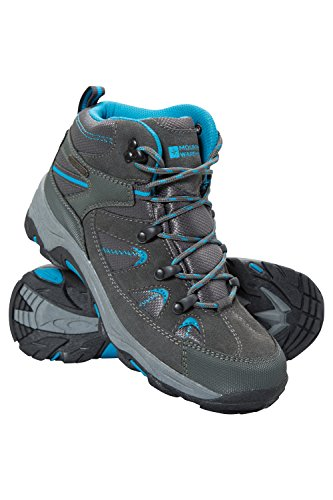 Blue Womens Snowboard Boots - Mountain Warehouse Rapid Womens Waterproof Boots -Ladies Hiking Shoes Teal 6 M US Women